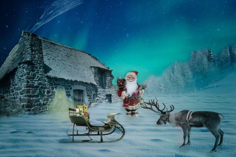 Сказка про Деда Мороза и Снегурочку